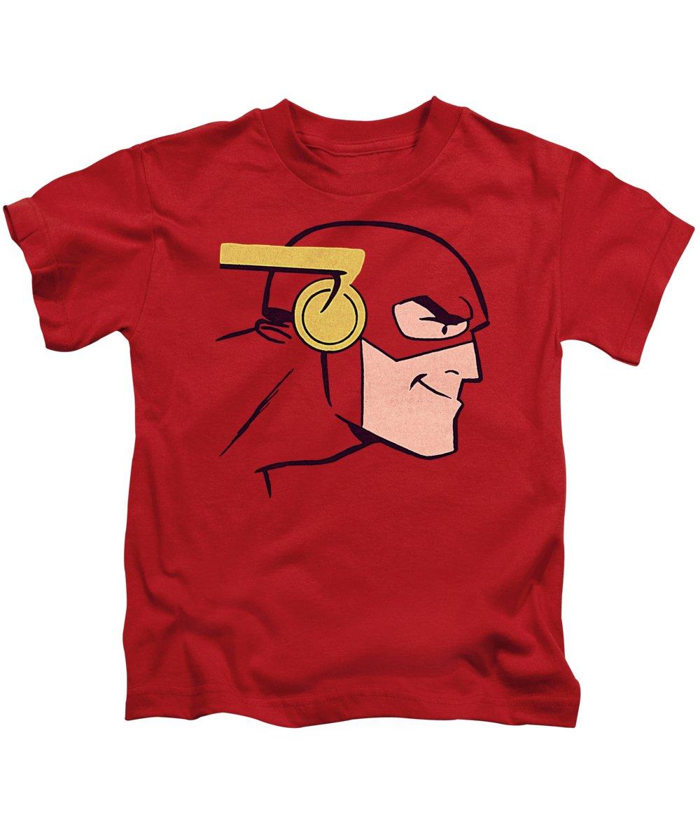 Kids T-Shirt featuring the digital art Jla - Cooke Head by Brand A