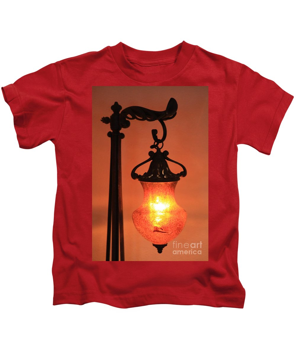 Evening Kids T-Shirt featuring the photograph Night by Brandi Maher