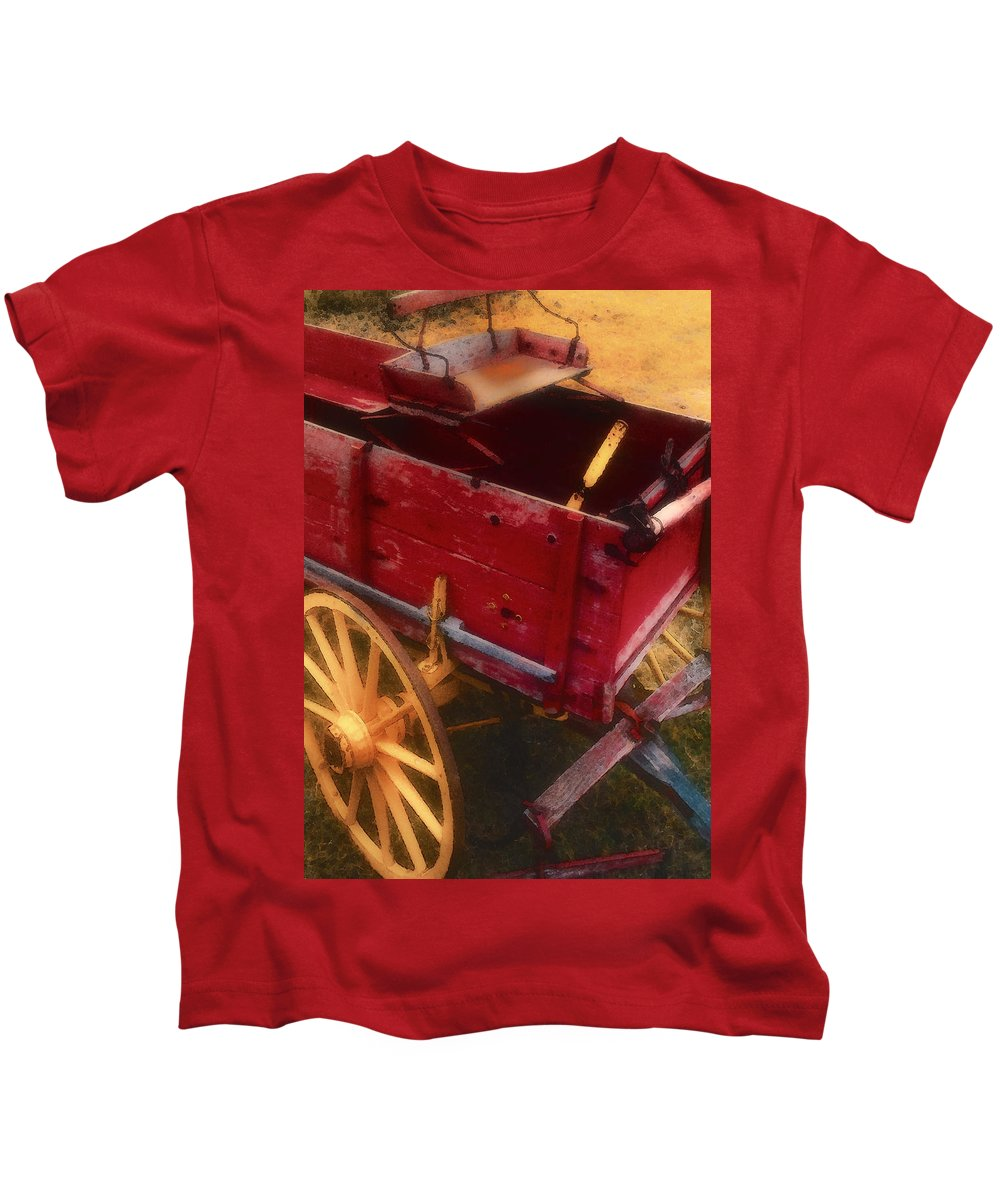 Texas Scenery Kids T-Shirt featuring the photograph Old Buck by Stephen Anderson