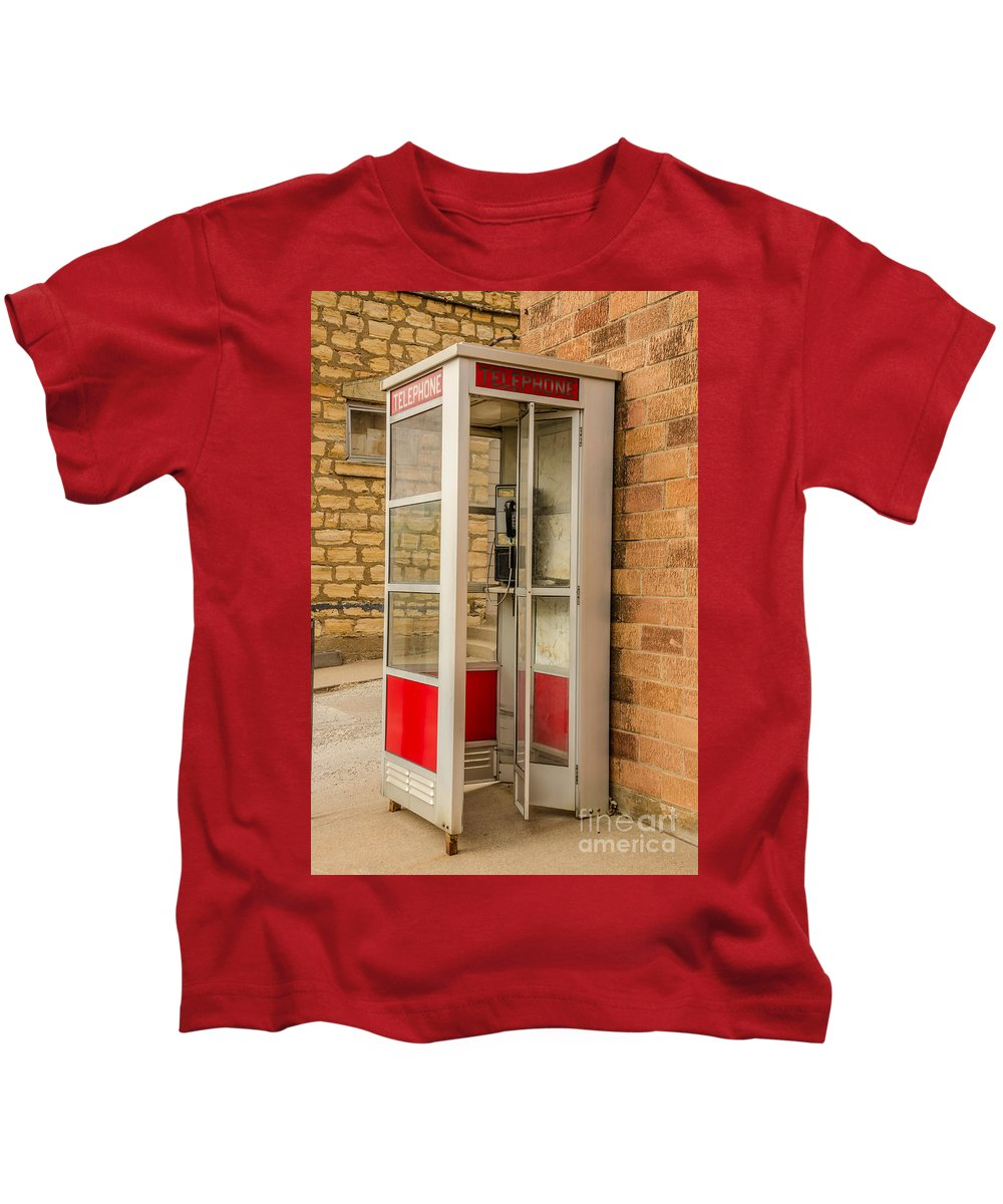 Black Kids T-Shirt featuring the photograph Before Cell Phones by Sue Smith