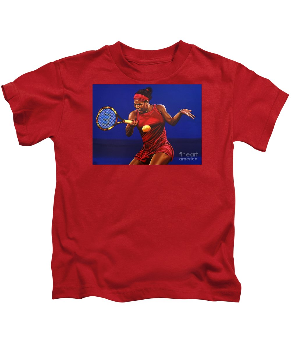 Serena Williams Kids T-Shirts
