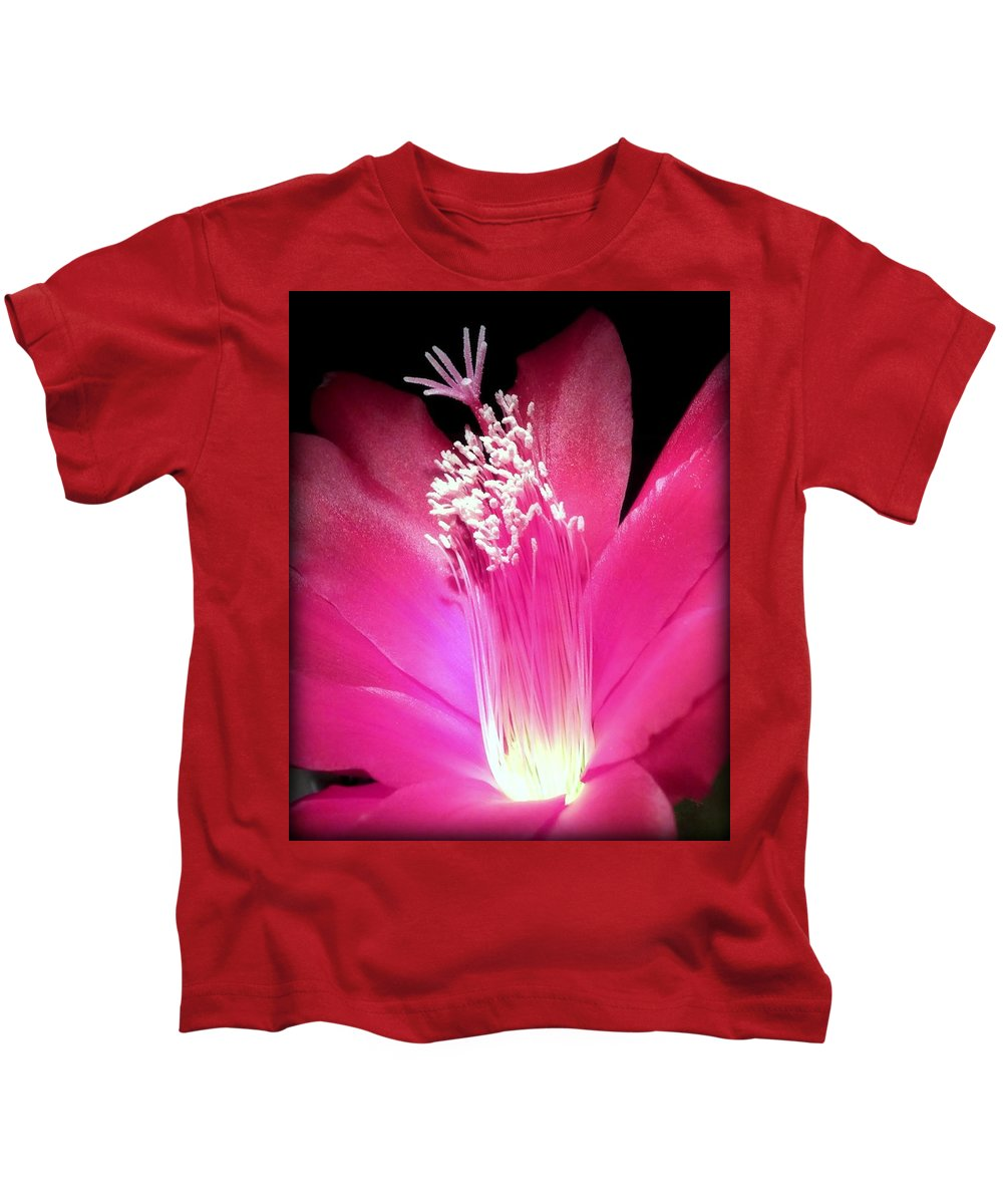 Hot Pink Kids T-Shirt featuring the photograph Stardust by Karen Wiles