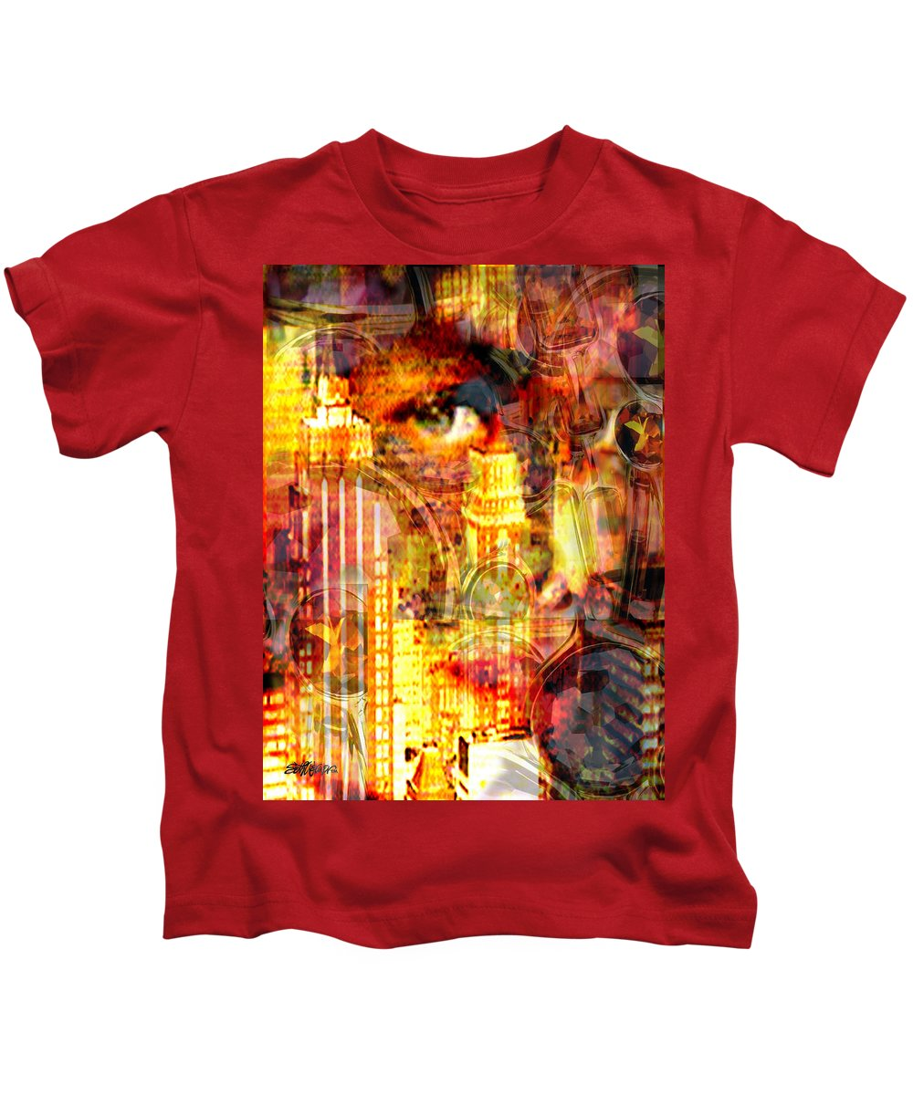 Big City Kids T-Shirt featuring the photograph Streetwalker by Seth Weaver