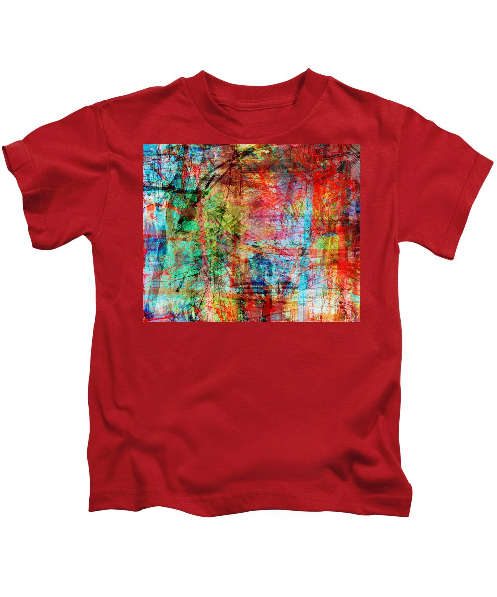 Brandon Lynch Kids T-Shirt featuring the digital art The City 10 by Brandon Lynch