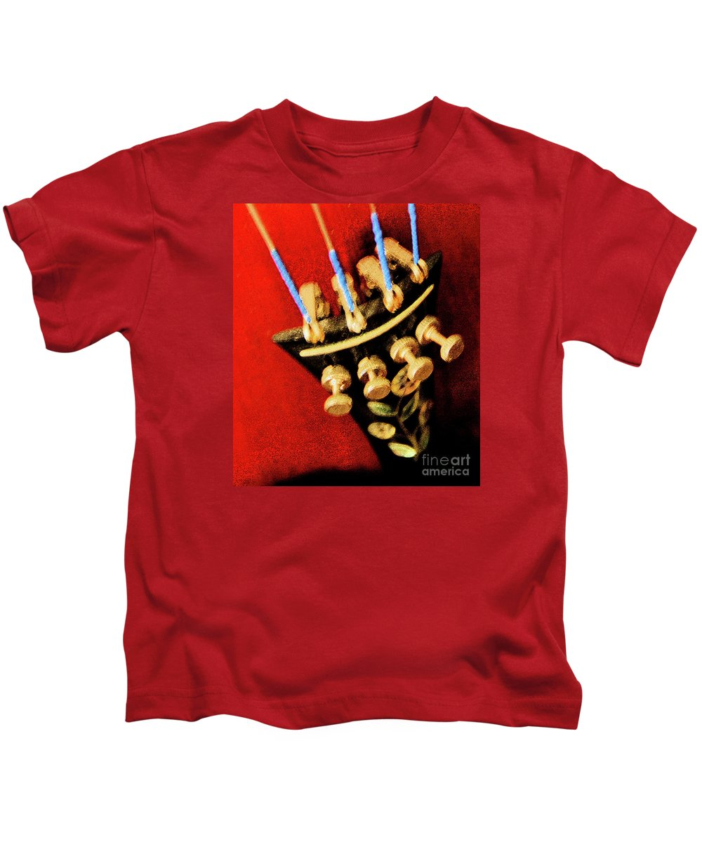 Music Kids T-Shirt featuring the photograph The Music Palomar by Linda Shafer