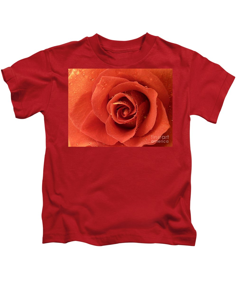 Rose Kids T-Shirt featuring the photograph The One by Bec Thomas