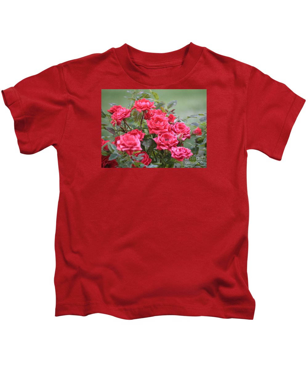 Roses Kids T-Shirt featuring the photograph Victorian Rose Garden by Carol Groenen