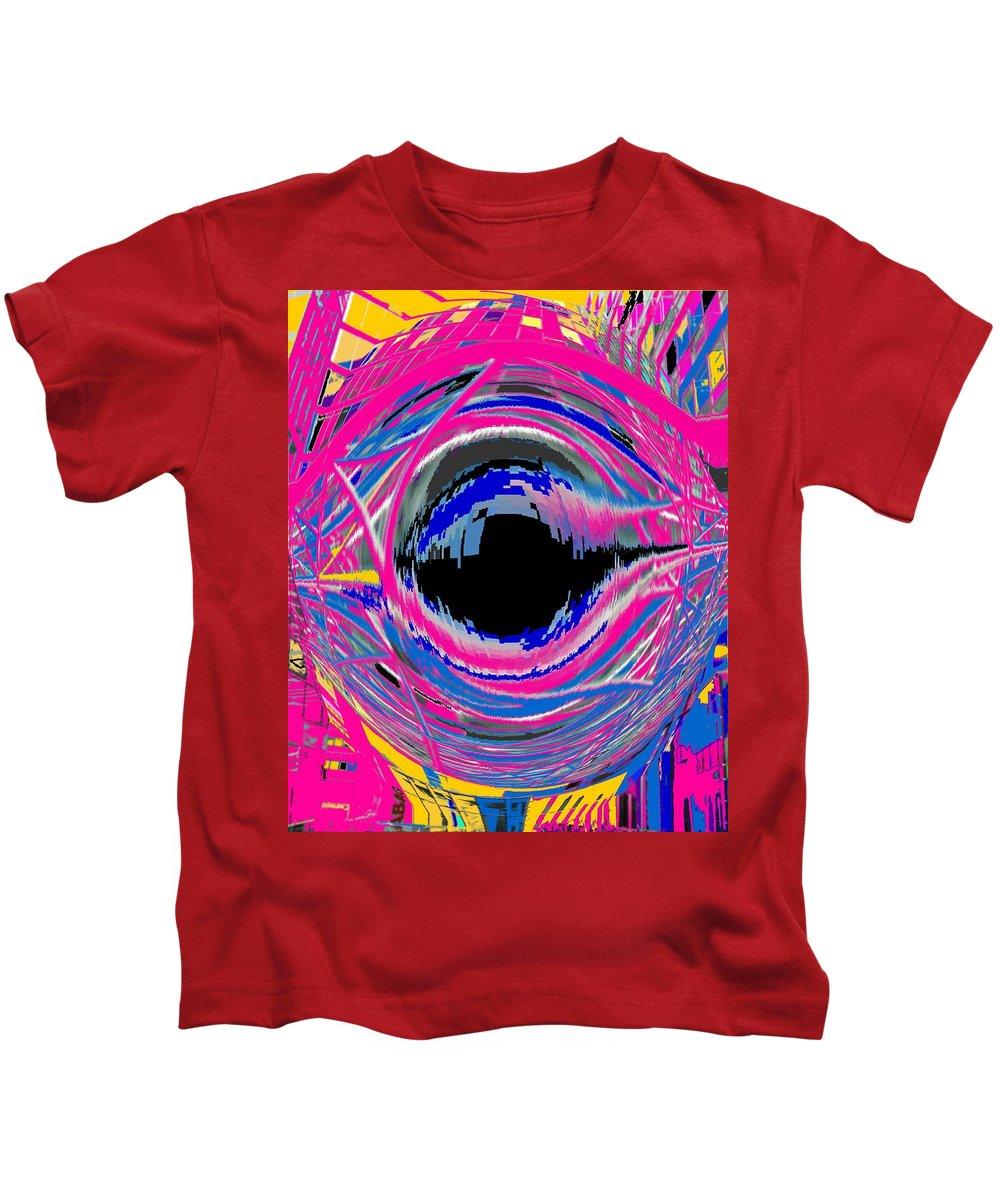 Abstract Kids T-Shirt featuring the photograph Vienna Modern by Ian MacDonald
