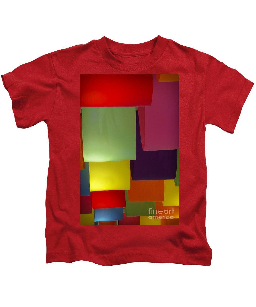 Color Kids T-Shirt featuring the photograph Waving The Color by Margie Hurwich