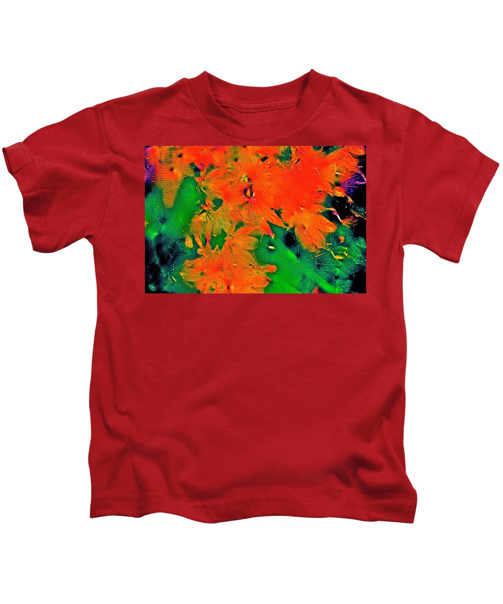 Abstract Kids T-Shirt featuring the photograph Abstract 83 by Pamela Cooper