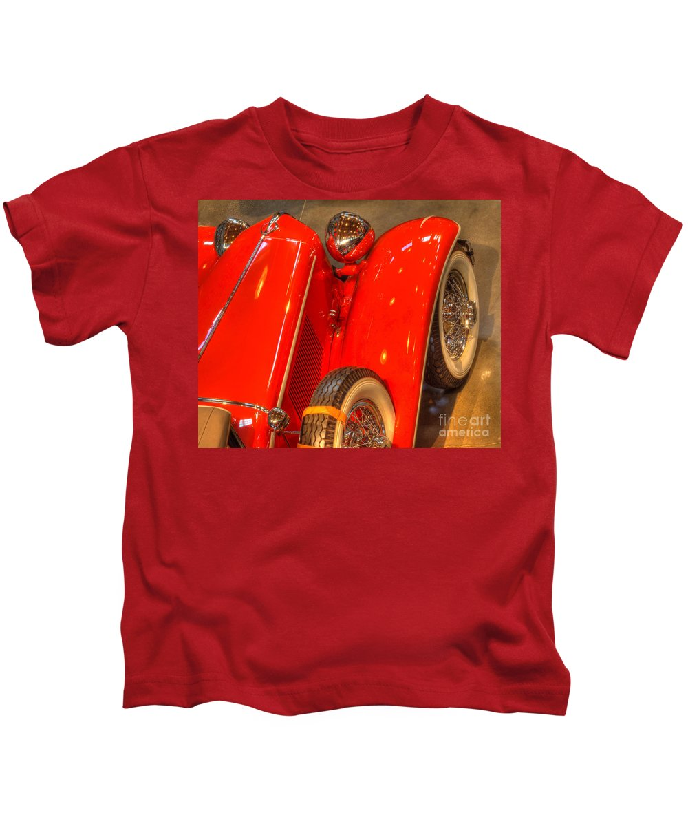 Classic Cars Kids T-Shirt featuring the photograph Cord Automobile by Bob Christopher