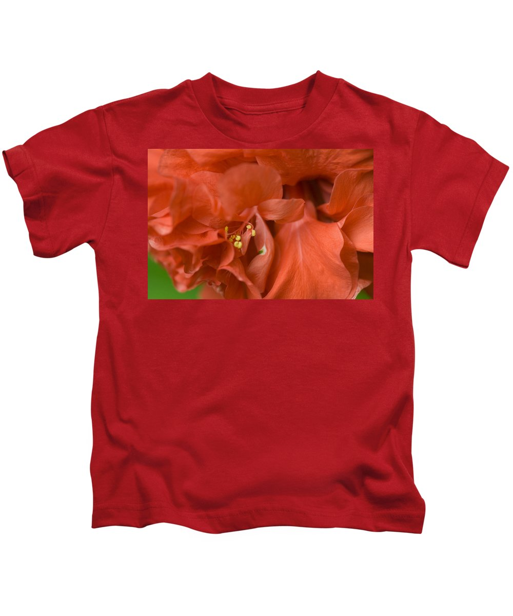 Flower Kids T-Shirt featuring the photograph Curly Hibiscus by Rich Franco