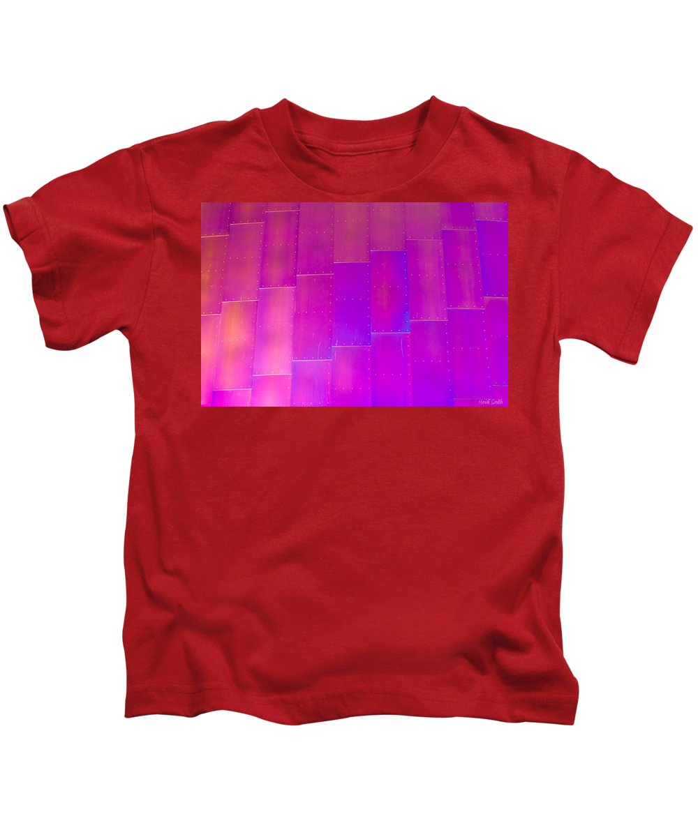 Seattle Kids T-Shirt featuring the photograph Emp Metal by Heidi Smith