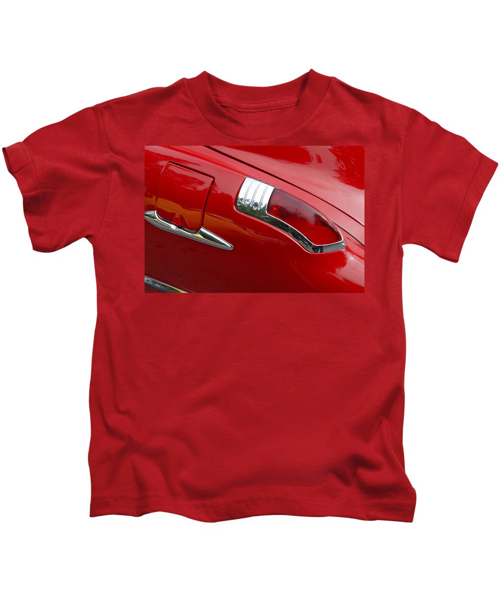 Automobiles Kids T-Shirt featuring the photograph Forty Nine Buick by John Schneider