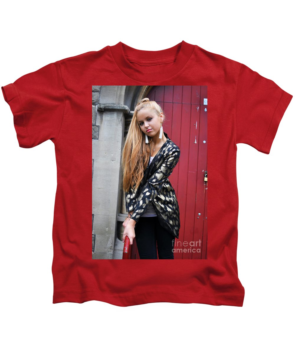 Yhun Suarez Kids T-Shirt featuring the photograph Liuda15 by Yhun Suarez