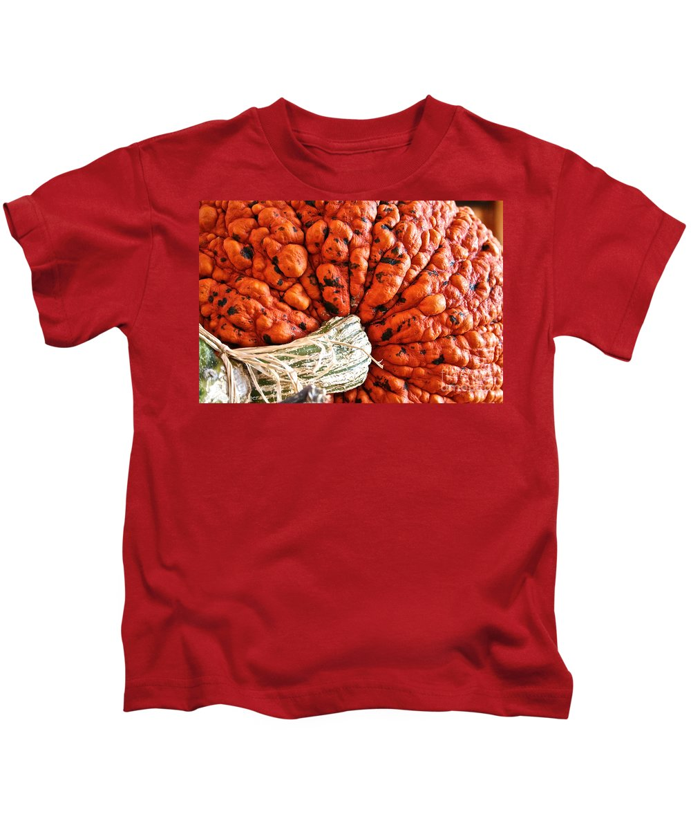 Outdoors Kids T-Shirt featuring the photograph Lumpy Bumpy by Susan Herber