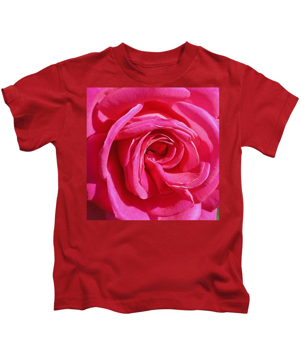Rose Kids T-Shirt featuring the photograph Rose Rose by Shannon Grissom