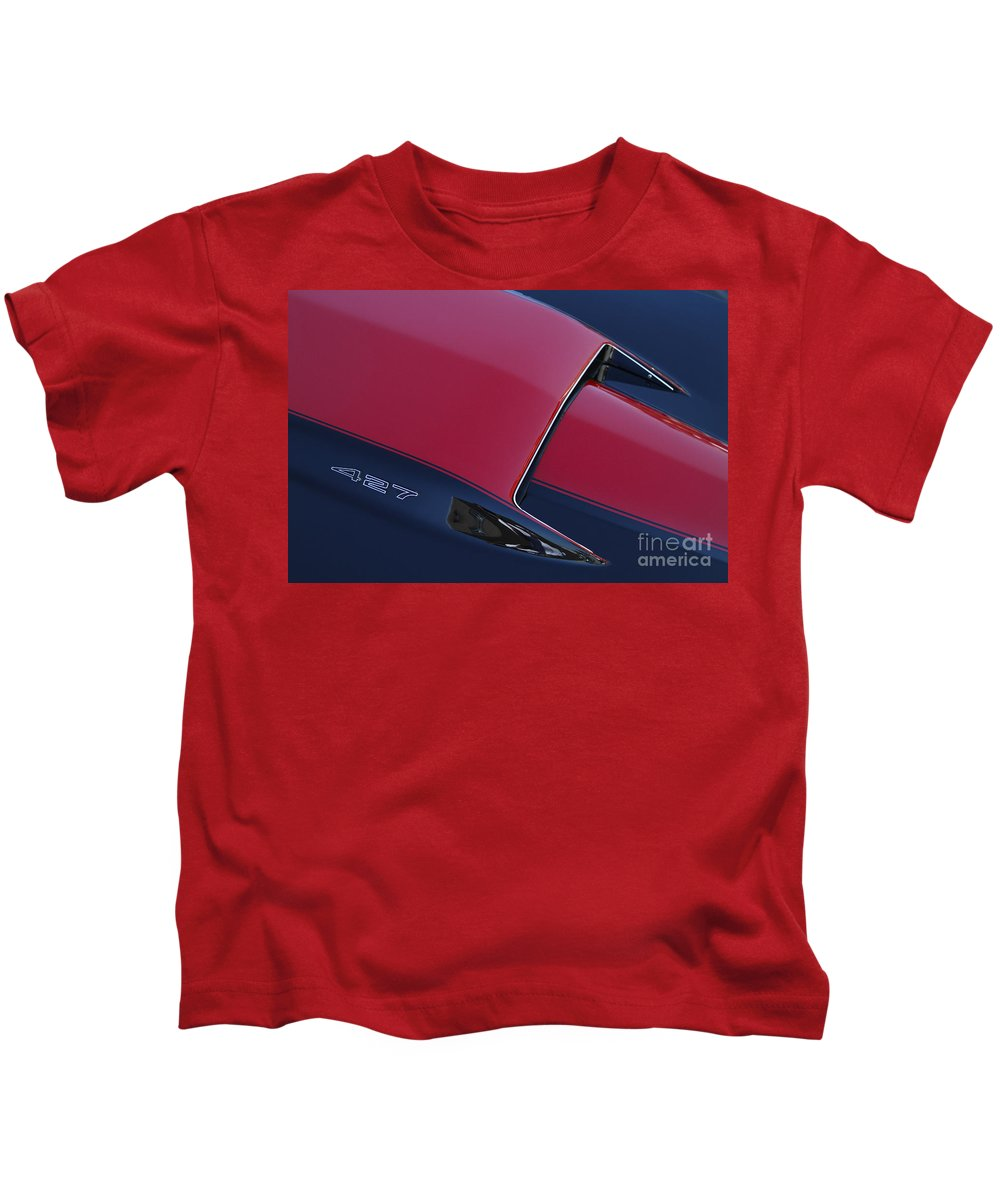 Corvette Kids T-Shirt featuring the photograph Stinger by Dennis Hedberg