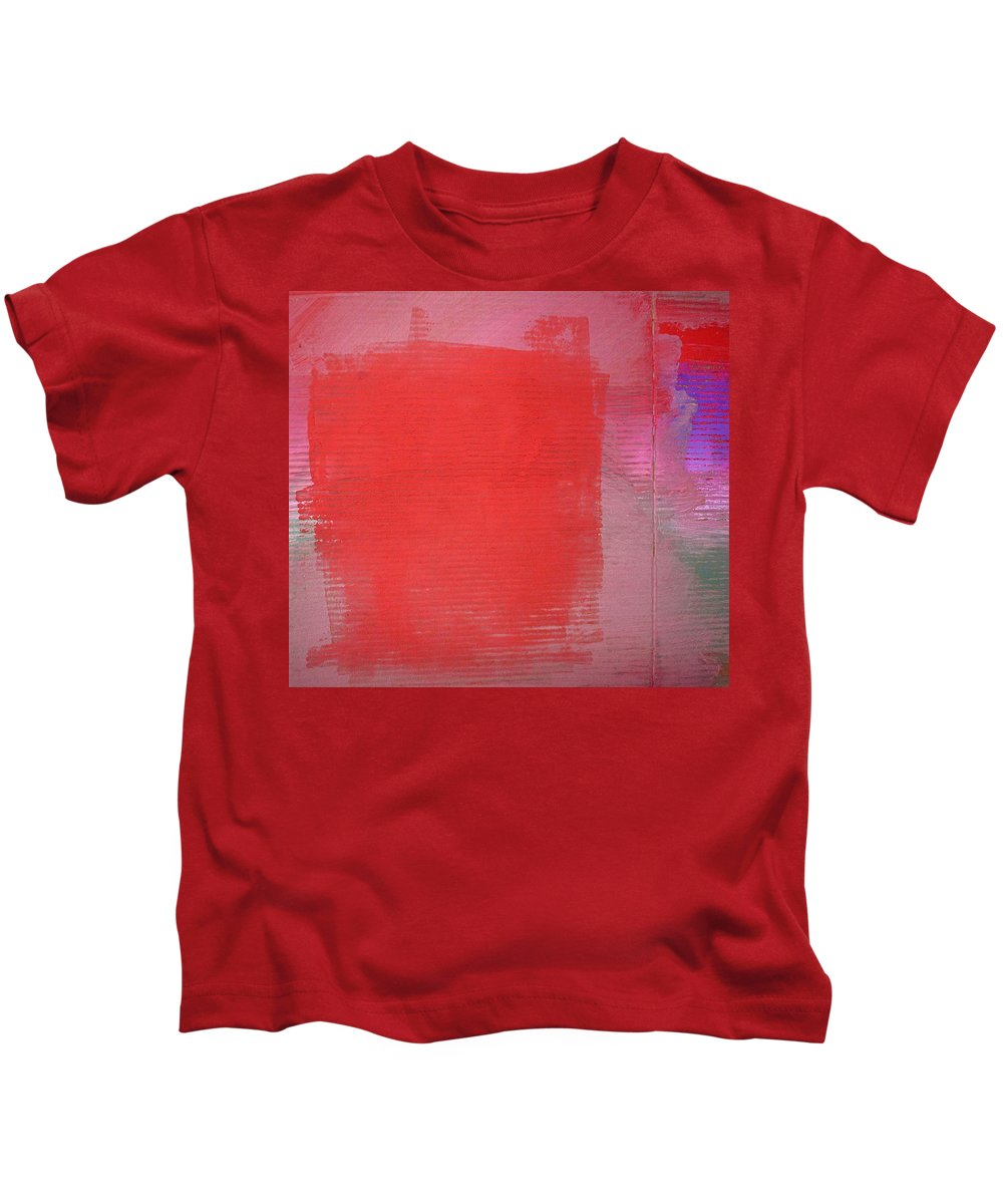 Vibes Kids T-Shirt featuring the painting Vibration by Charles Stuart