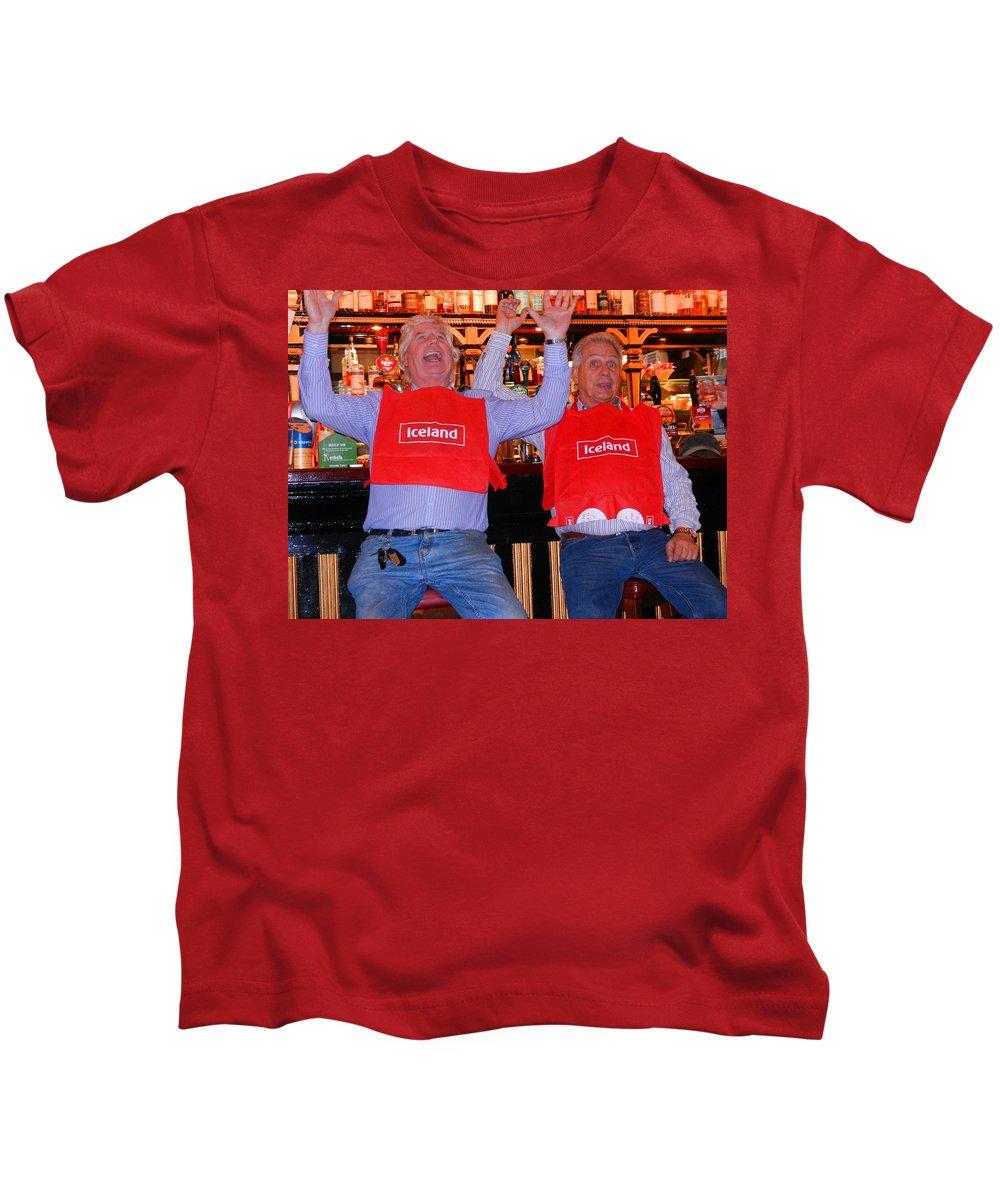 Nik Watt Kids T-Shirt featuring the photograph A Goal by Nik Watt