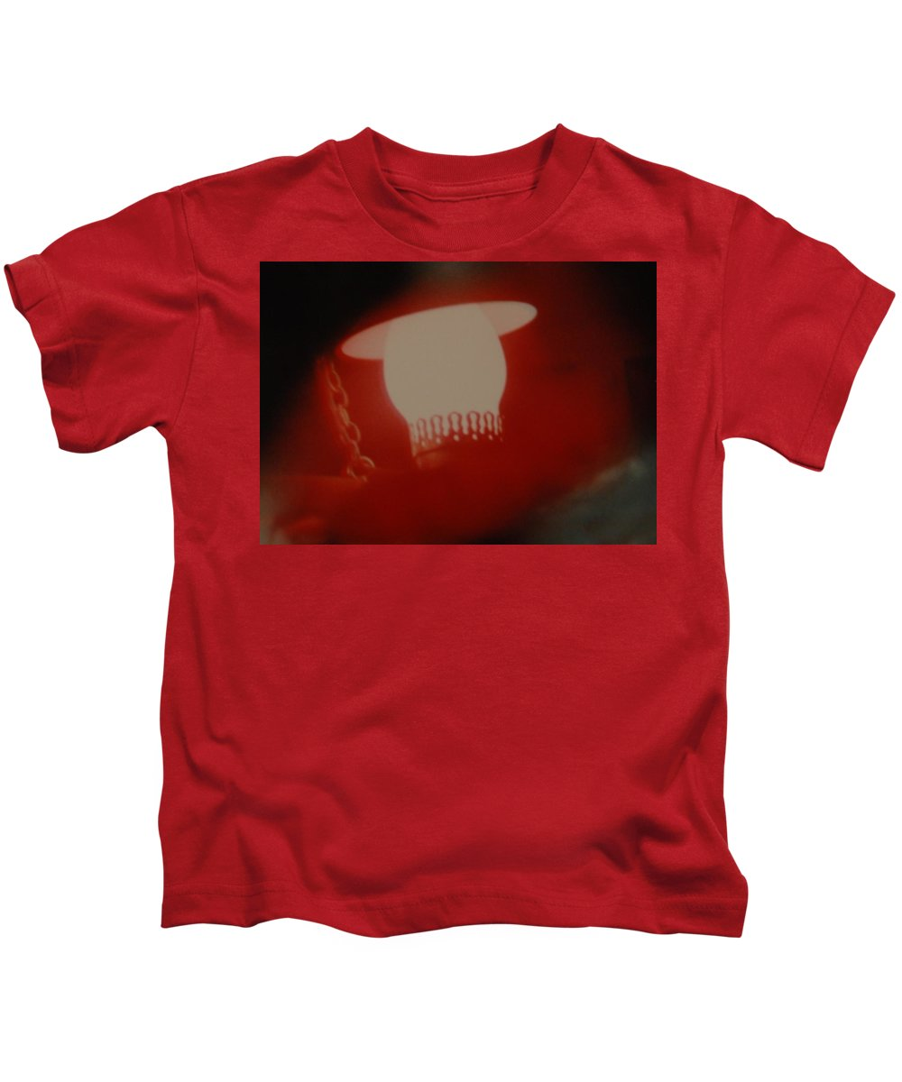 Lantern Kids T-Shirt featuring the photograph Abstarct Sea Lantern by Rob Hans