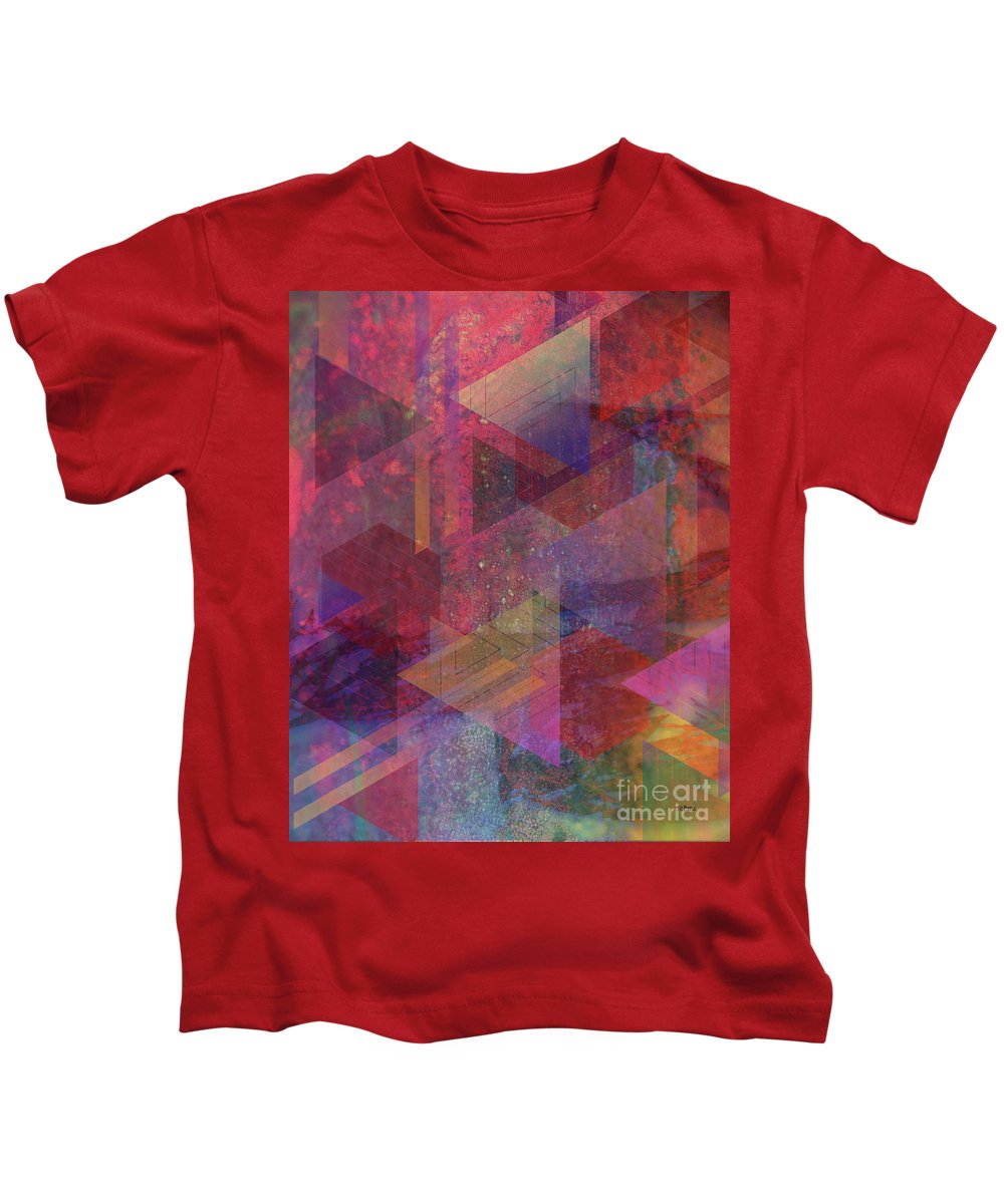 Another Place Kids T-Shirt featuring the digital art Another Place by John Beck