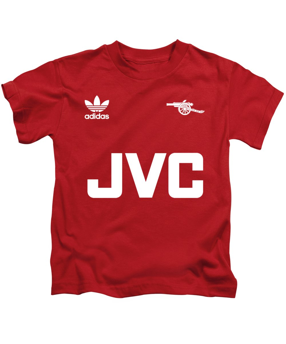 7d8bc0328 Arsenal Kids T-Shirt featuring the digital art Arsenal Retro by Pillo Wsoisi