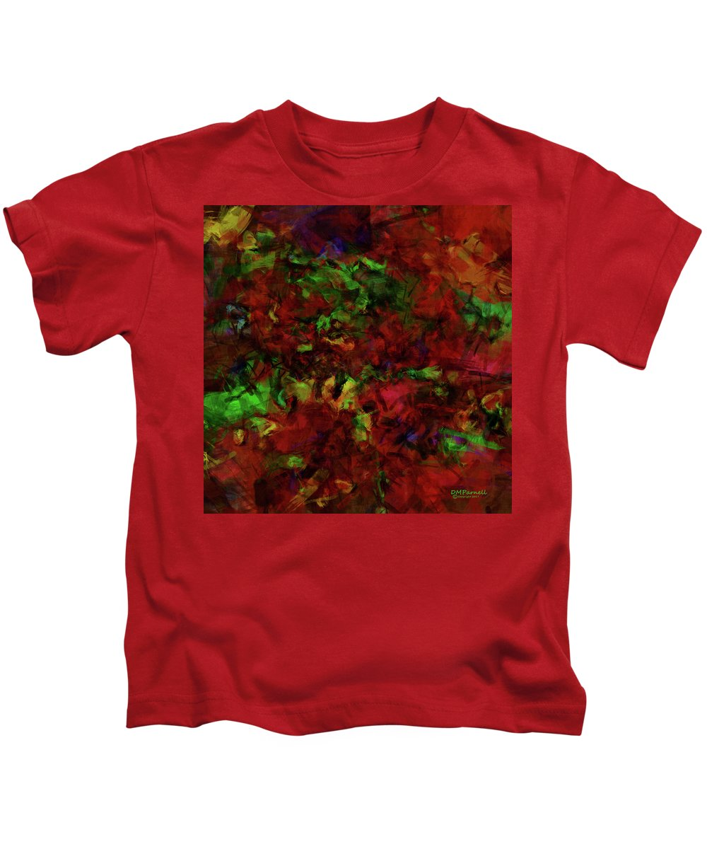 Foliage Kids T-Shirt featuring the digital art Artists Foliage by Diane Parnell
