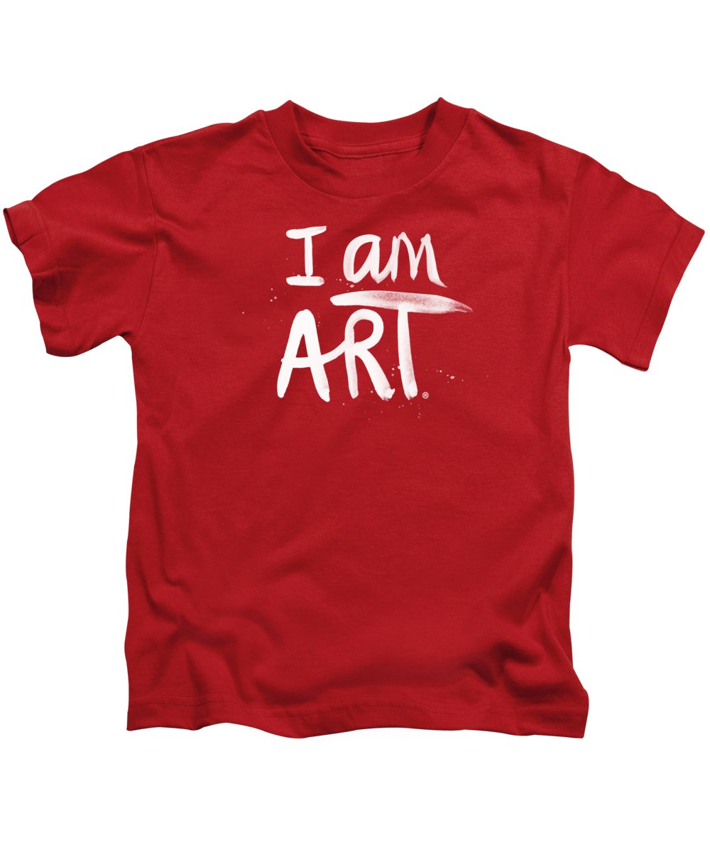 Black And White Art Kids T-Shirts