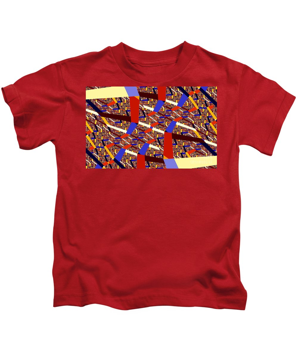 Clay Kids T-Shirt featuring the digital art Atomic Link by Clayton Bruster