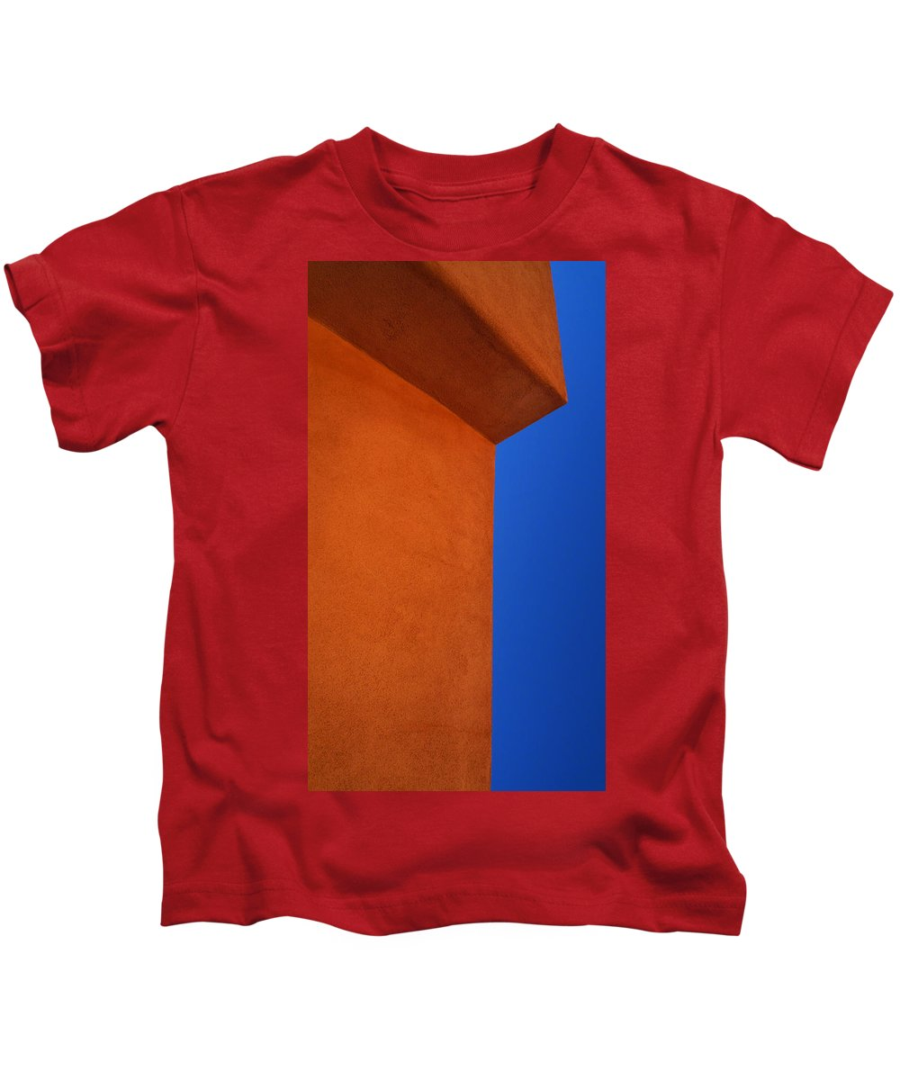 Skip Hunt Kids T-Shirt featuring the photograph Big Red by Skip Hunt