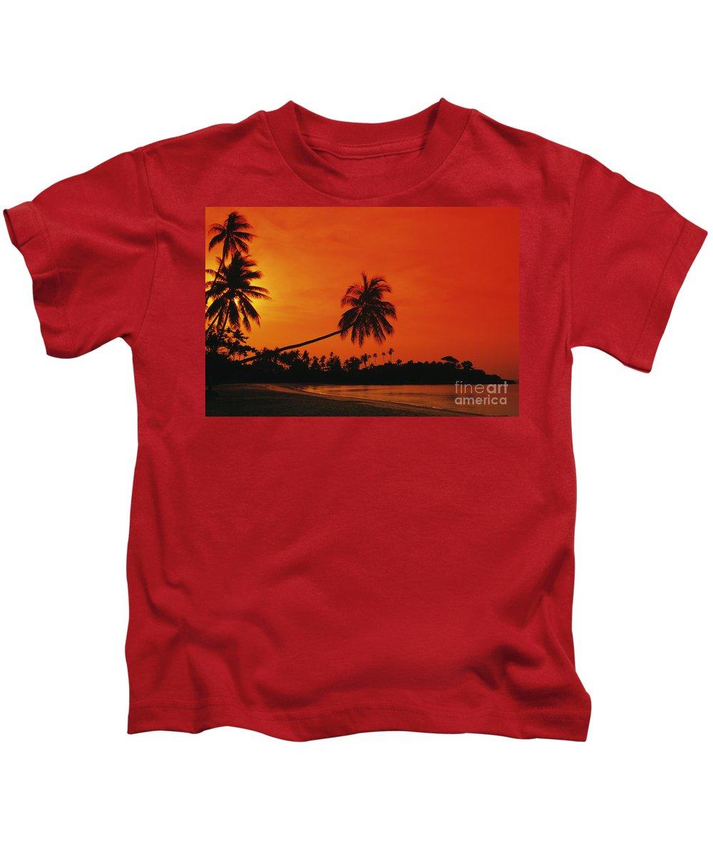Beach Kids T-Shirt featuring the photograph Bintan Island Beach by Gloria & Richard Maschmeyer - Printscapes
