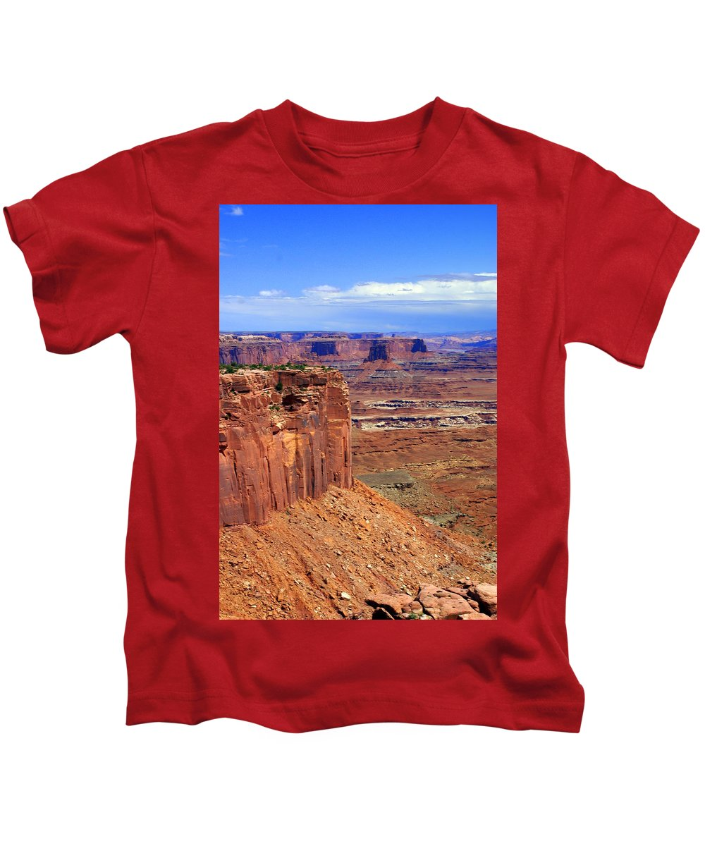 Canyonlands National Park Kids T-Shirt featuring the photograph Canyonlands 4 by Marty Koch
