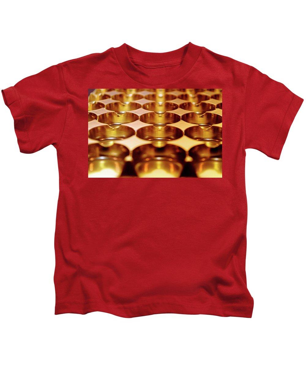 Bevel Kids T-Shirt featuring the photograph Chocolate Box - Tray1 by Srinivasan Venkatarajan