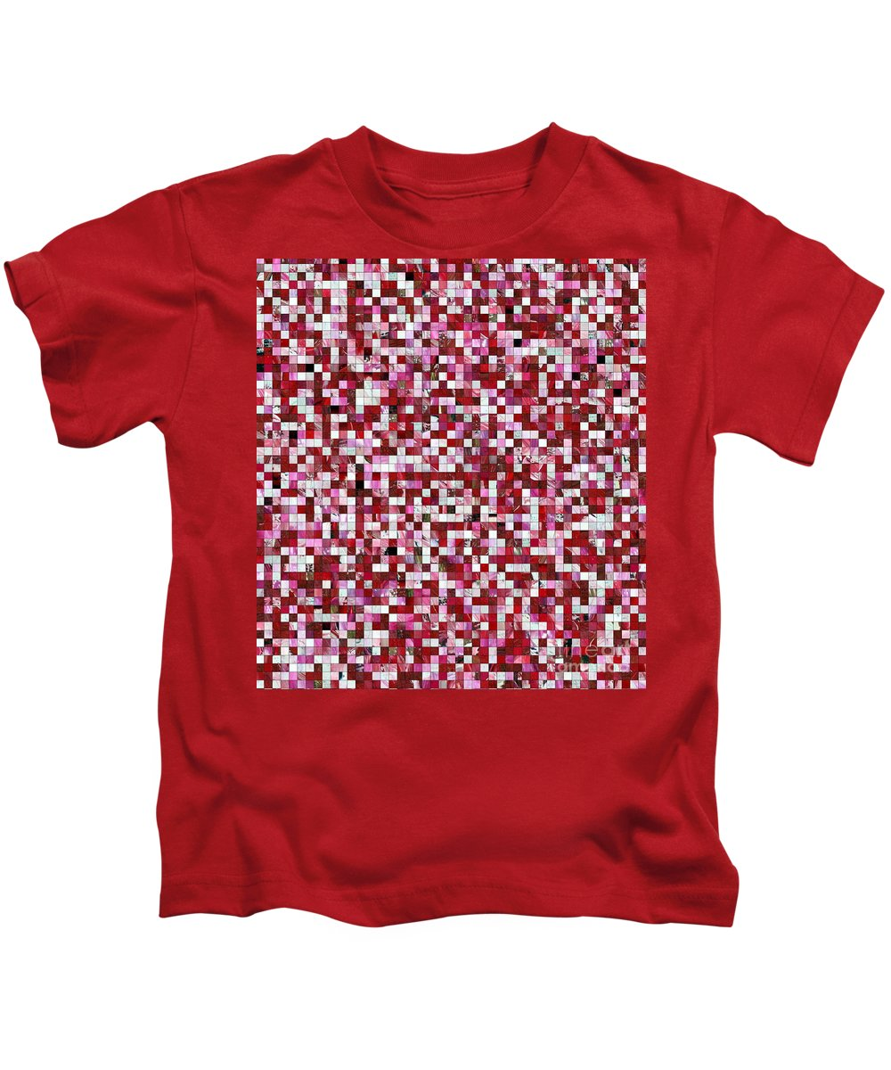 Cinamon Candy Kids T-Shirt featuring the painting Cinnamon Candy by Dawn Hough Sebaugh