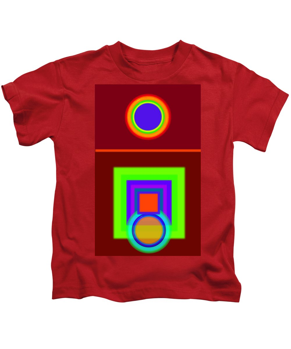 Classical Kids T-Shirt featuring the digital art Classical Snack by Charles Stuart