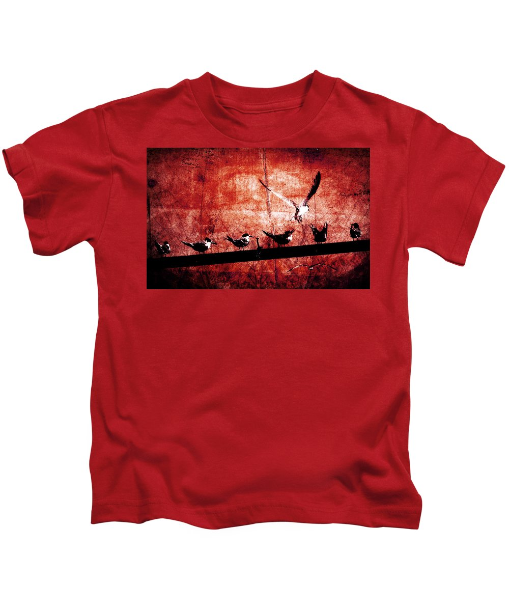 Anger Kids T-Shirt featuring the photograph Defiance by Andrew Paranavitana