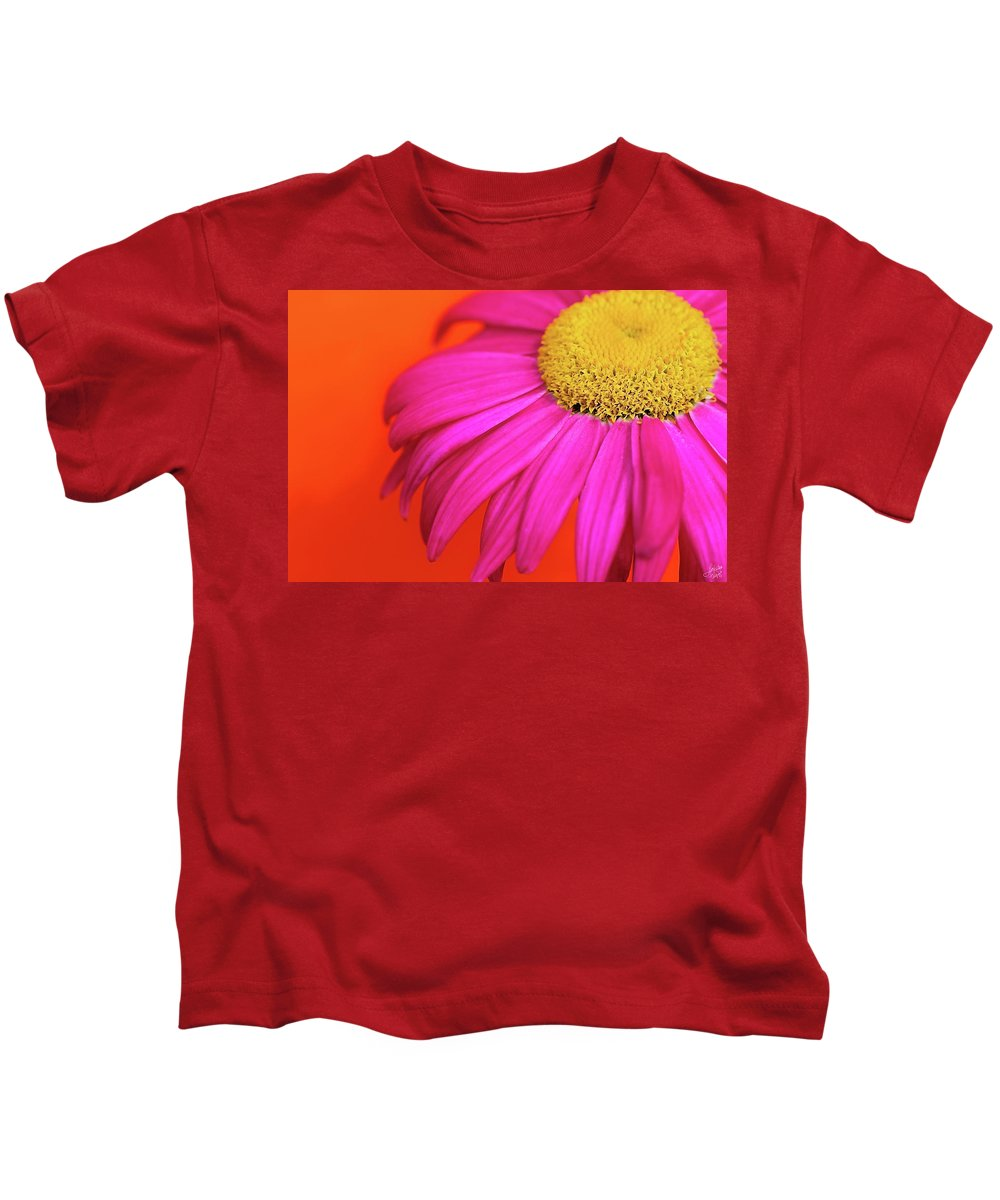 Colourful Kids T-Shirt featuring the photograph Delight by Lisa Knechtel