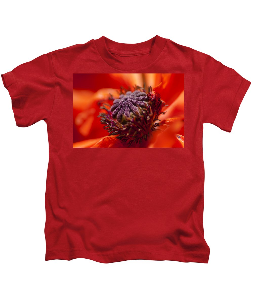 Flowers Kids T-Shirt featuring the photograph Douze by Greg Collins
