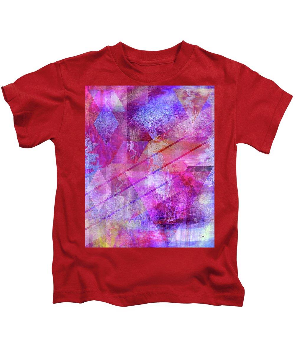 Dragon's Kiss Kids T-Shirt featuring the digital art Dragon's Kiss by John Beck