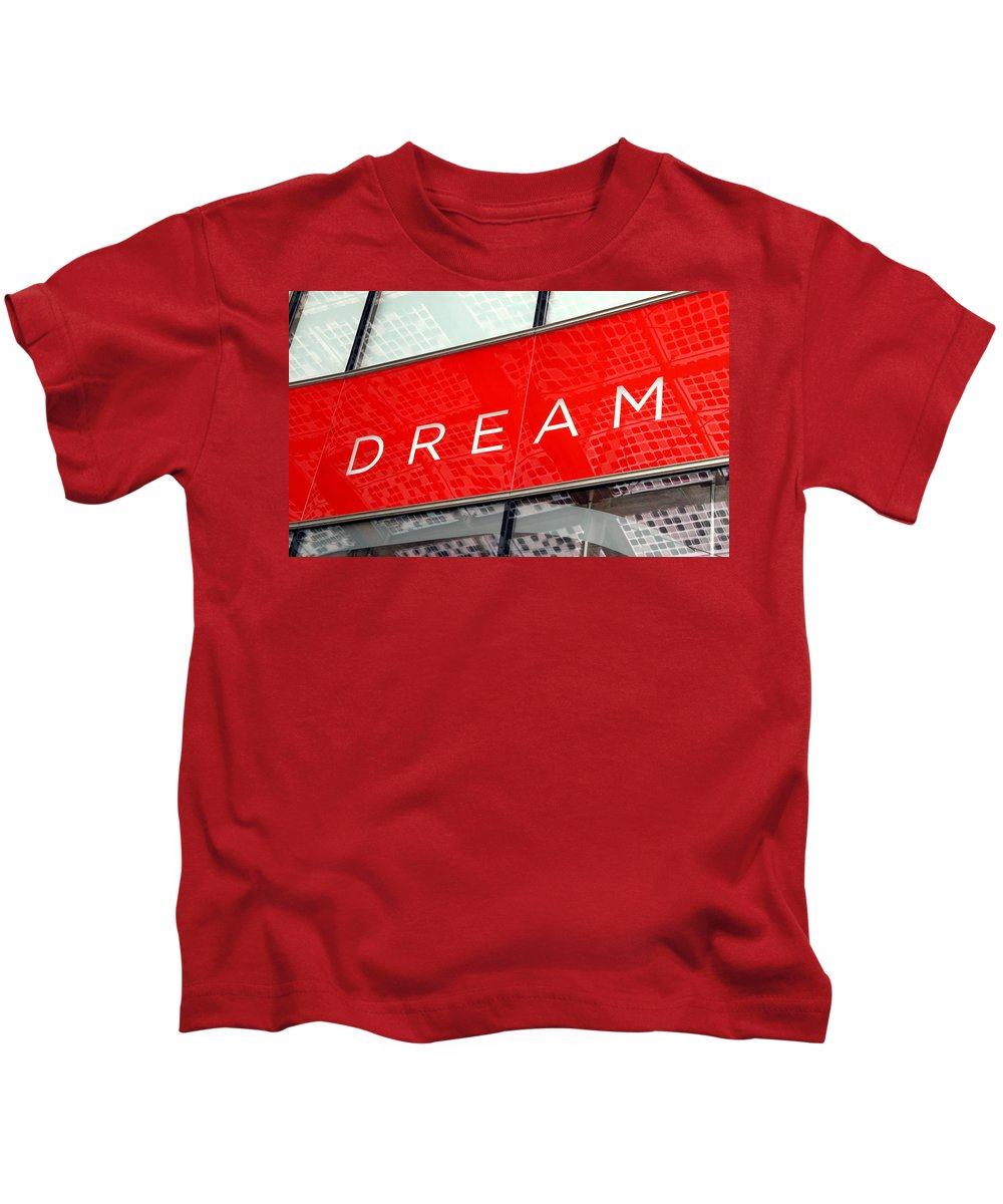 Dream Kids T-Shirt featuring the photograph Dream by Valentino Visentini