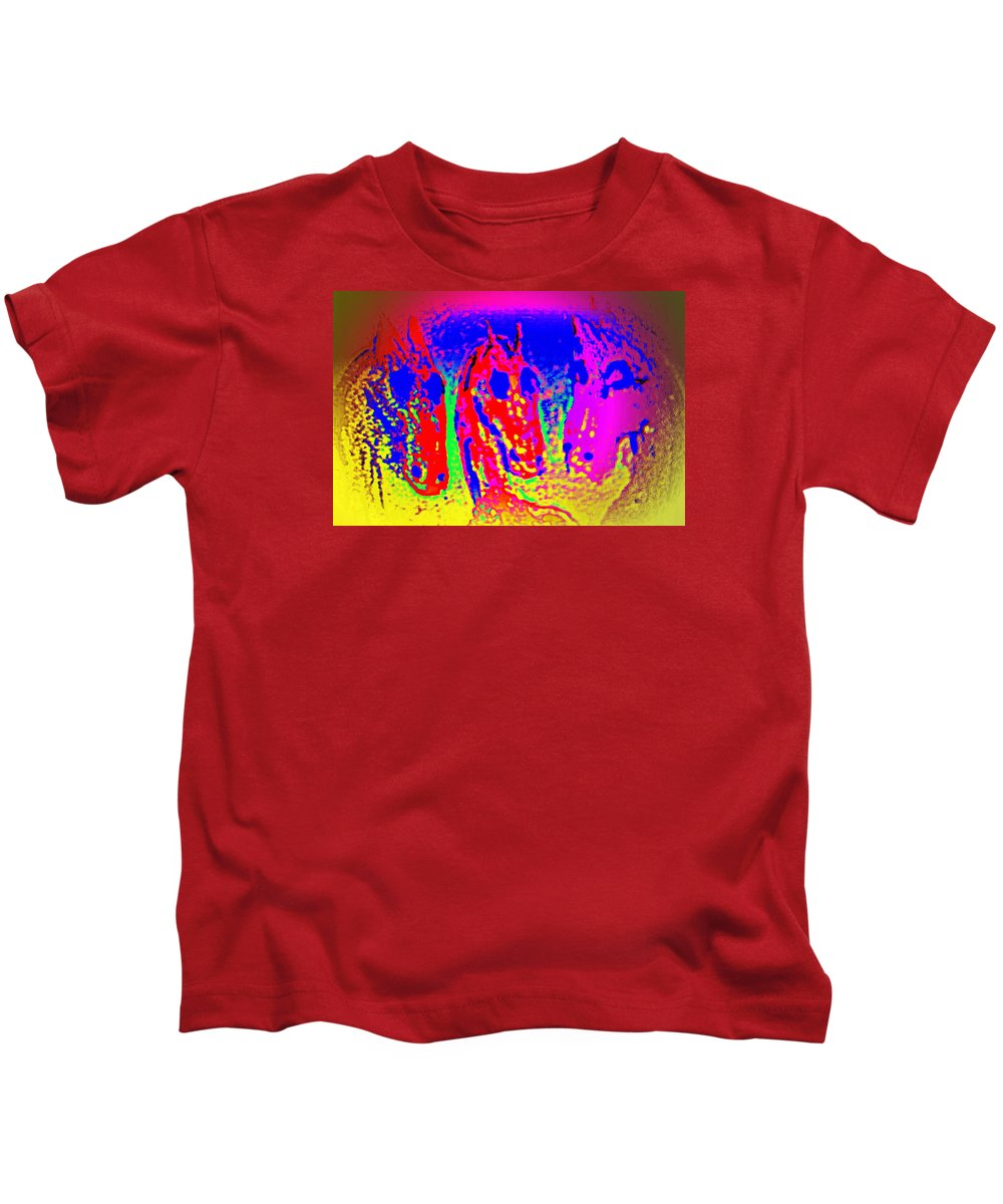 Sun Kids T-Shirt featuring the photograph I Don't Dare To Say What I Mean Because Then You Might Dislike Me by Hilde Widerberg