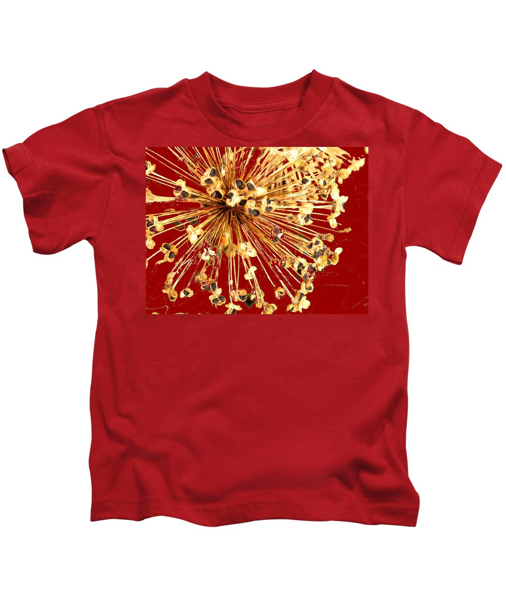 Explosion Kids T-Shirt featuring the photograph Explosion Enhanced by Ian MacDonald