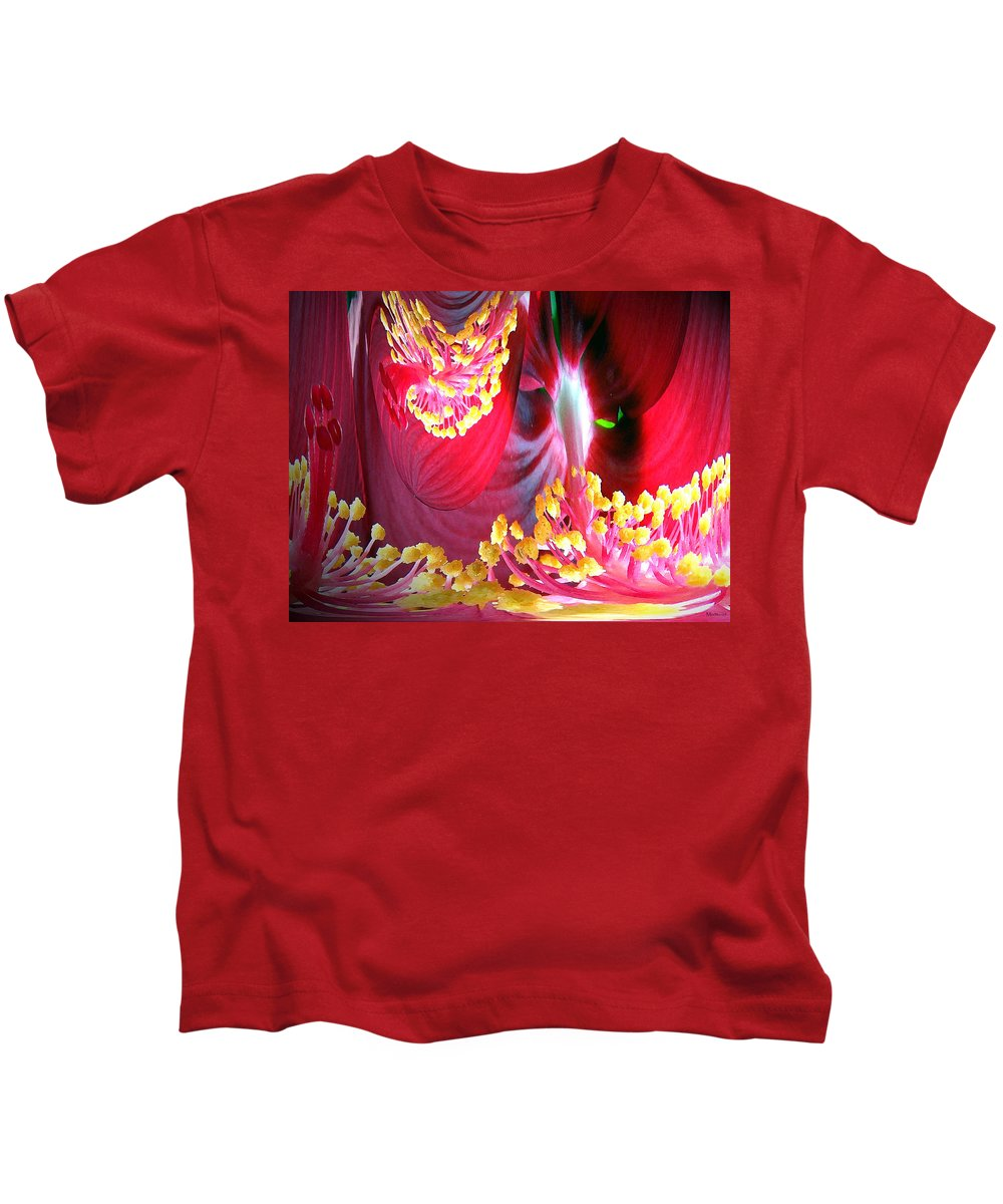Fairytale Kids T-Shirt featuring the photograph Fairytale Forest by Merja Waters