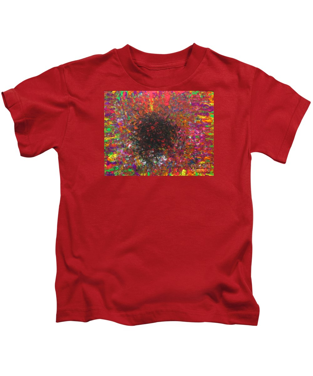 Falling Kids T-Shirt featuring the painting Falling by Jacqueline Athmann