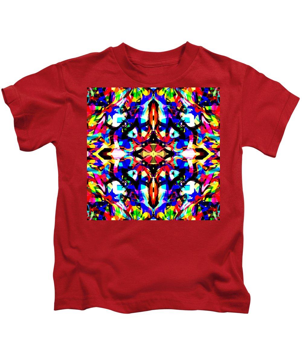 Axe Kids T-Shirt featuring the digital art Fireaxer by Blind Ape Art