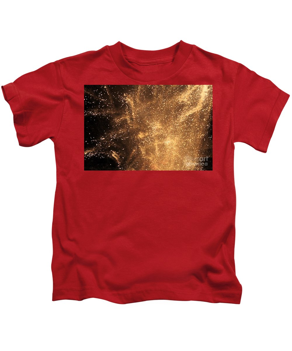 Fireworks Kids T-Shirt featuring the photograph Fired Up by Debbi Granruth