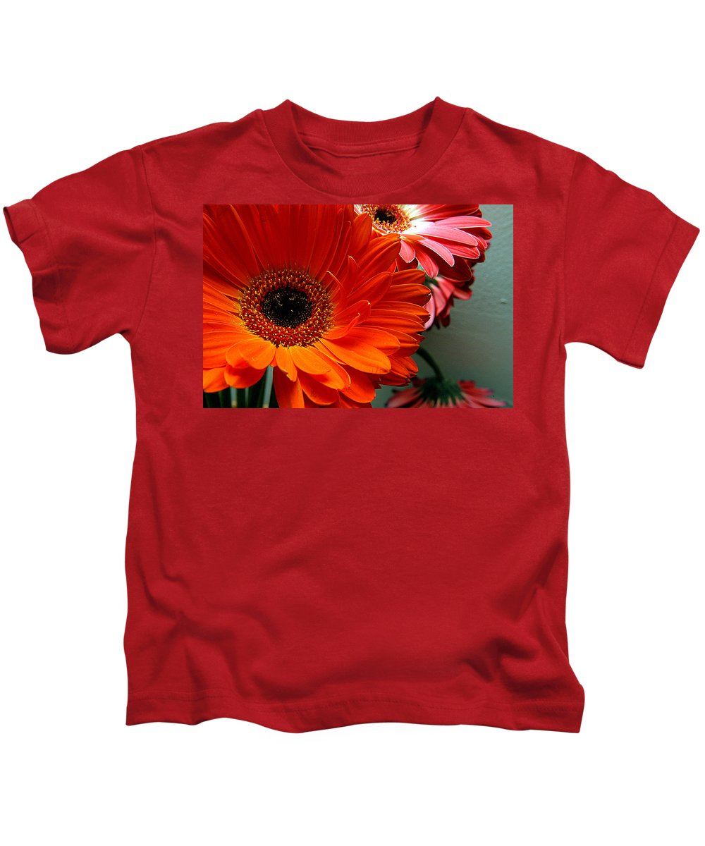 Clay Kids T-Shirt featuring the photograph Floral Art by Clayton Bruster