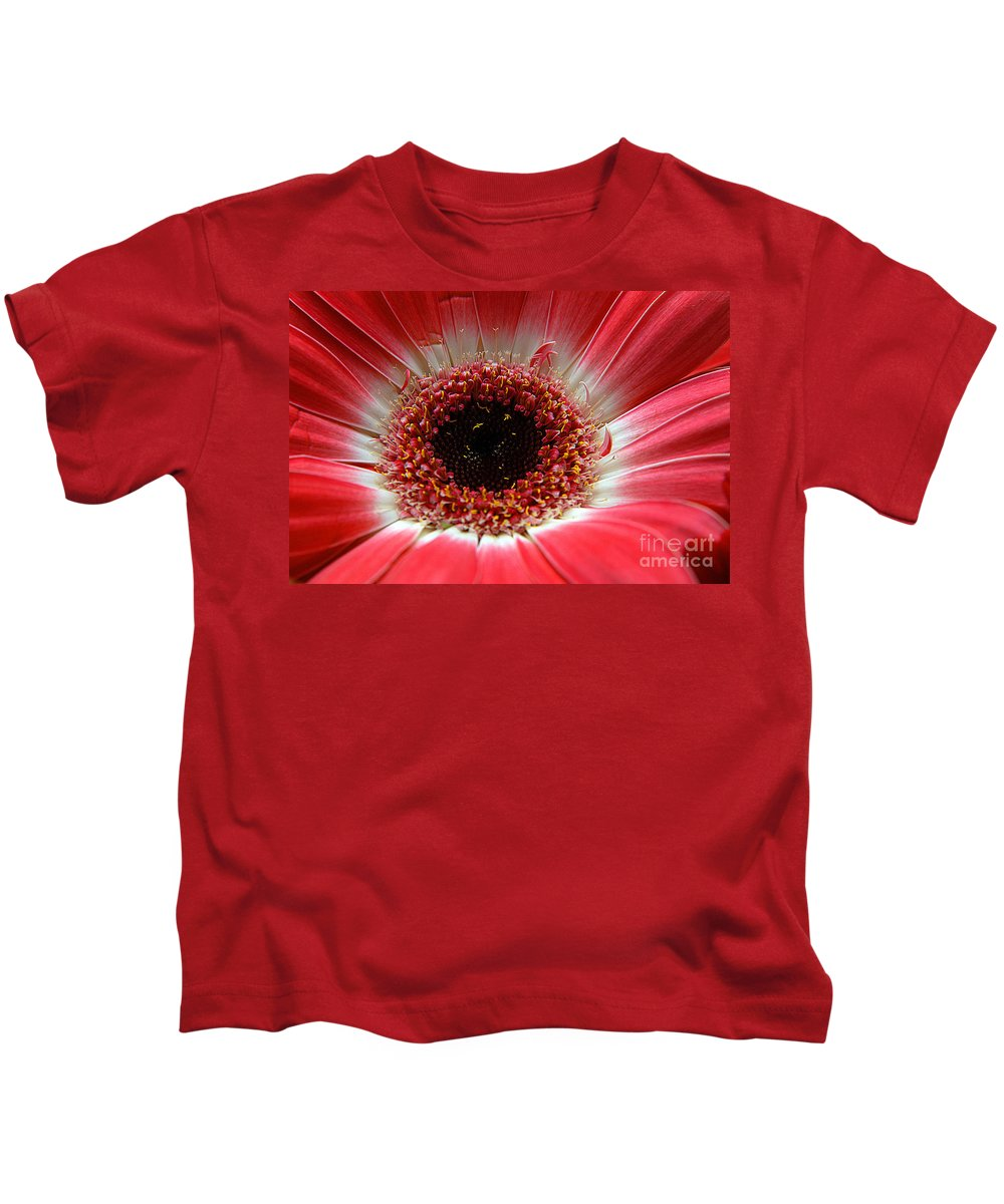 Clay Kids T-Shirt featuring the photograph Floral Eye by Clayton Bruster