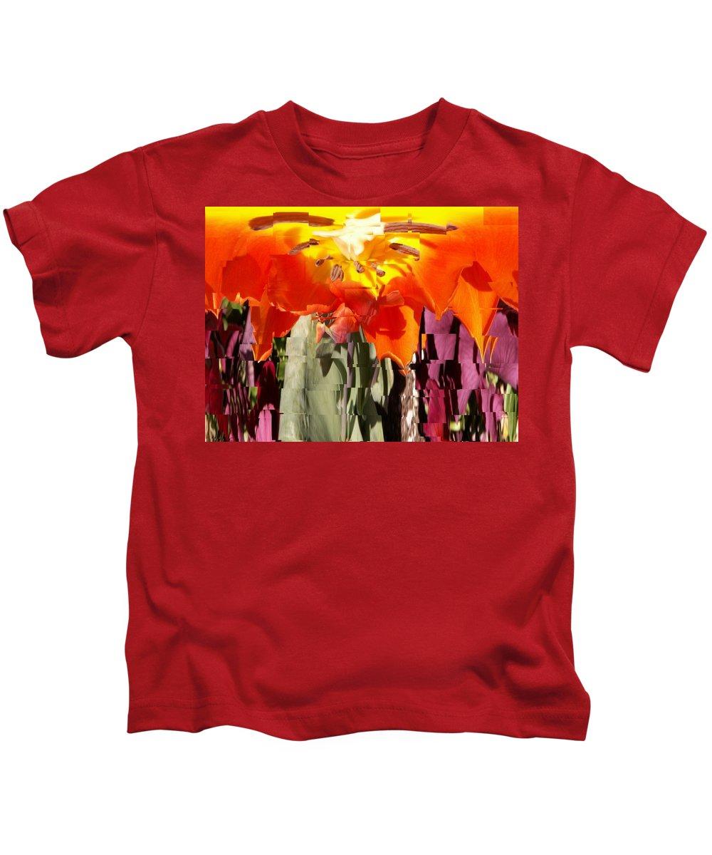 Flower Kids T-Shirt featuring the photograph Flower by Tim Allen